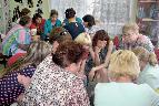Работа в группах на детской секции