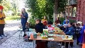 Летний читальный зал Красноярской краевой детской библиотеки