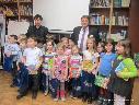 Представители Газпром трансгаз Ставрополь с детьми