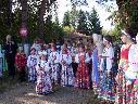 Участники семинара на экскурсии по культурному центру  «Деревня   Ремесленников» село Новокусково Асиновского района