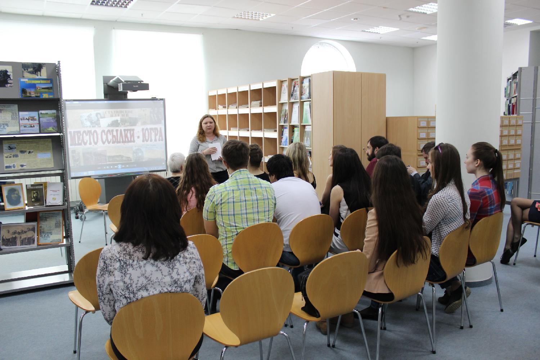 В государственной библиотеке югры открывается выставка геннадия райшева