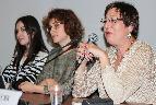 Эксперты круглого стола: Оля Понедельник, Анна Титова, Любовь Борусяк