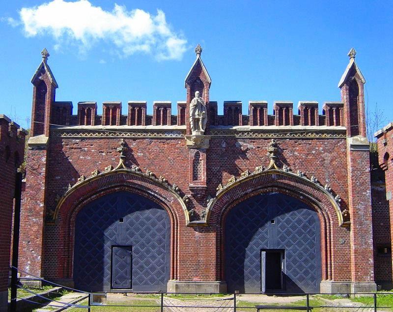 какие ворота в калининграде бранденбургские фридланские